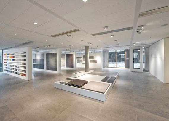 Mosa Tegels Showroom : Mosa showroom u materialen voor constructie